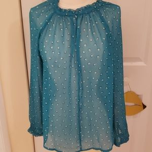 Elle Sheer Blouse in size small